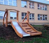Slide wooden