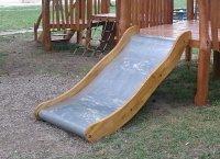 wood slides