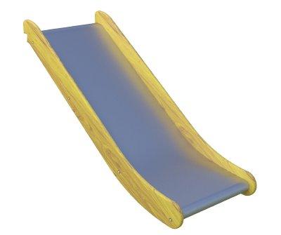 Straight slide, width 100 cm