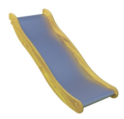 Slide with a wave, width 100 cm